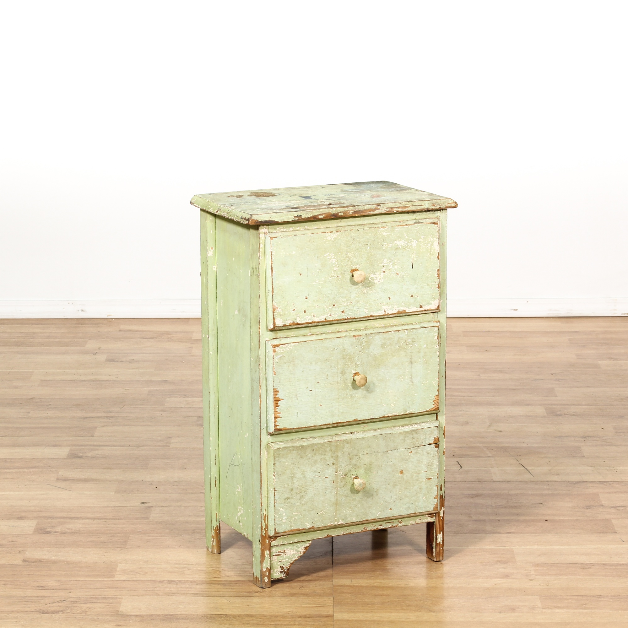 shabby chic distressed light green nightstand loveseat. Black Bedroom Furniture Sets. Home Design Ideas