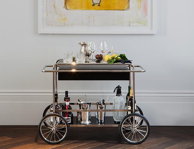 The Laslett drinks trolley