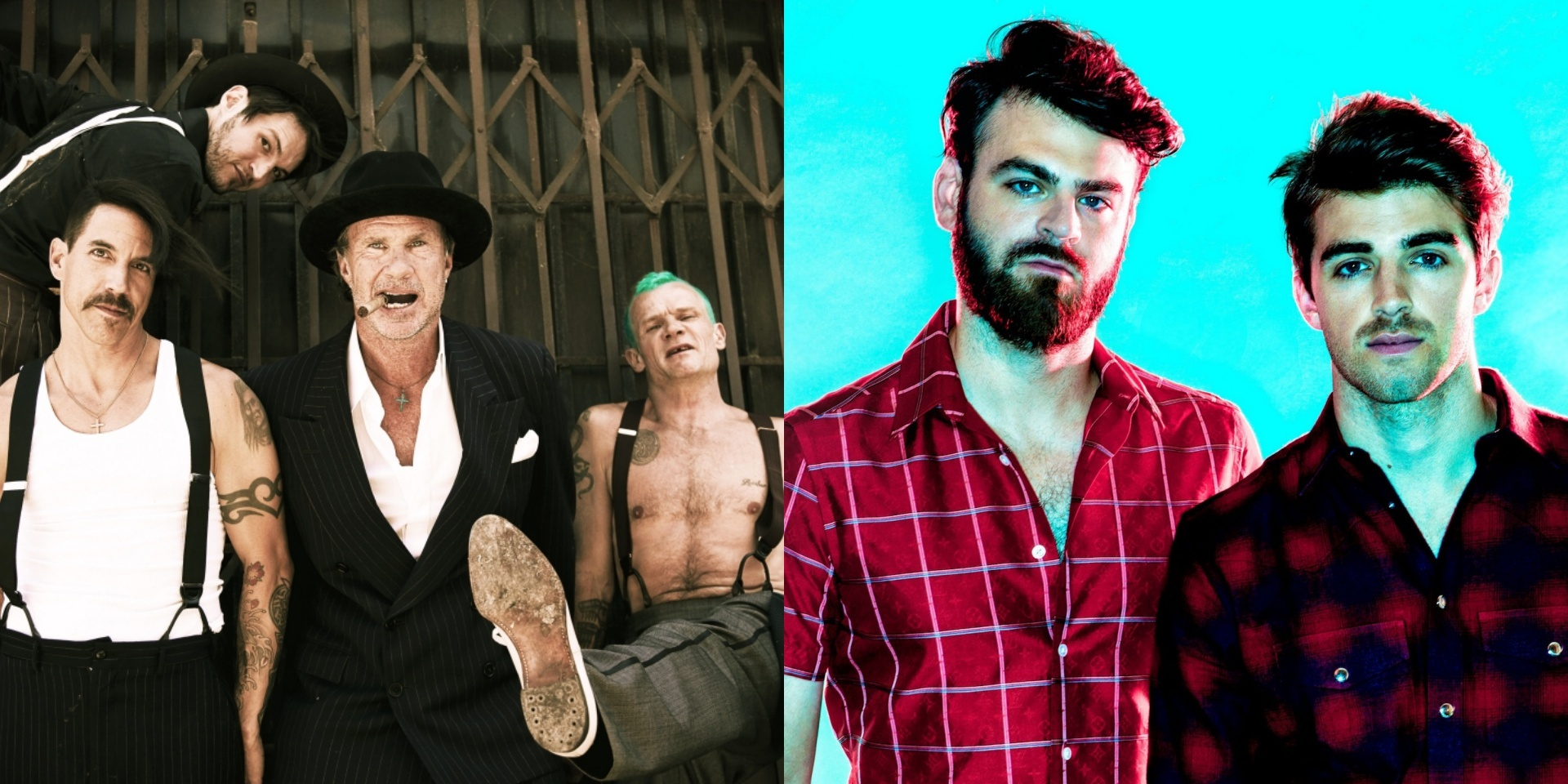 Red Hot Chili Peppers, The Chainsmokers and B'z to headline Summer Sonic 2019