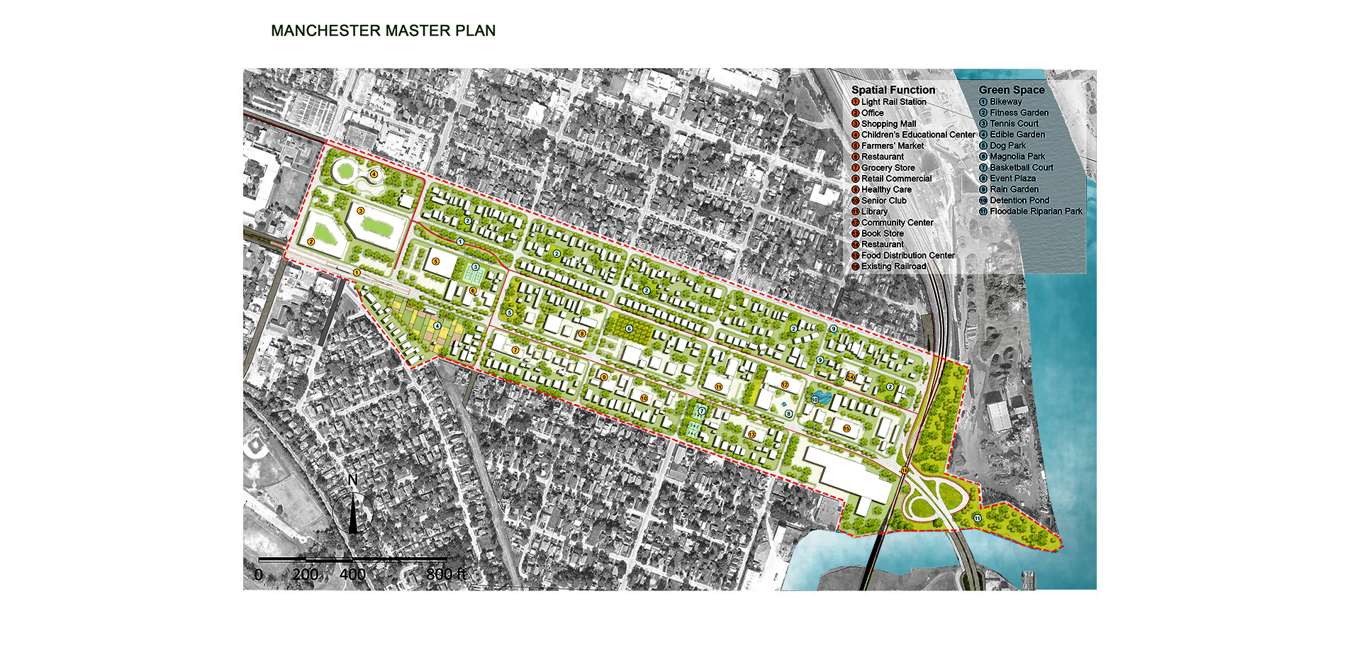 Master plan of Manchester