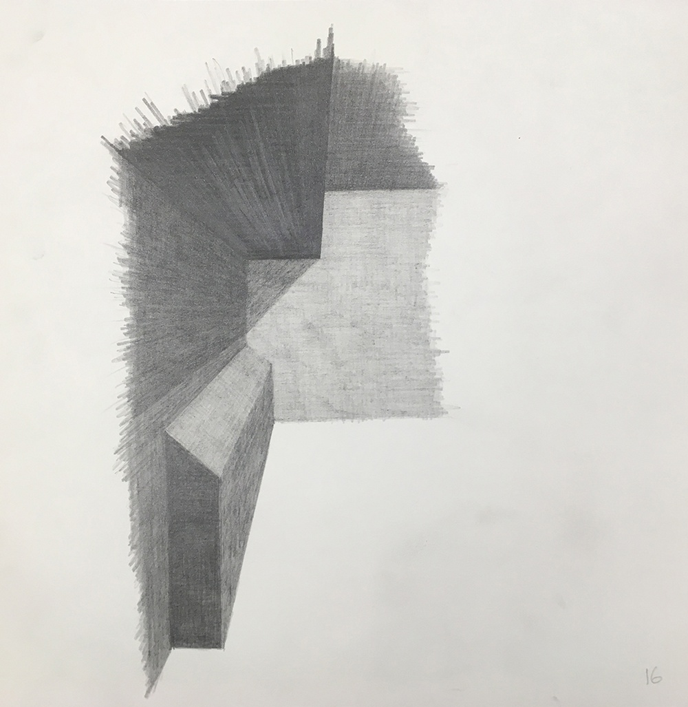 Sketch of 'Social Sculpture 9, Butt Shelf' (1998/2019) / John Lindell. Courtesy of the artist.