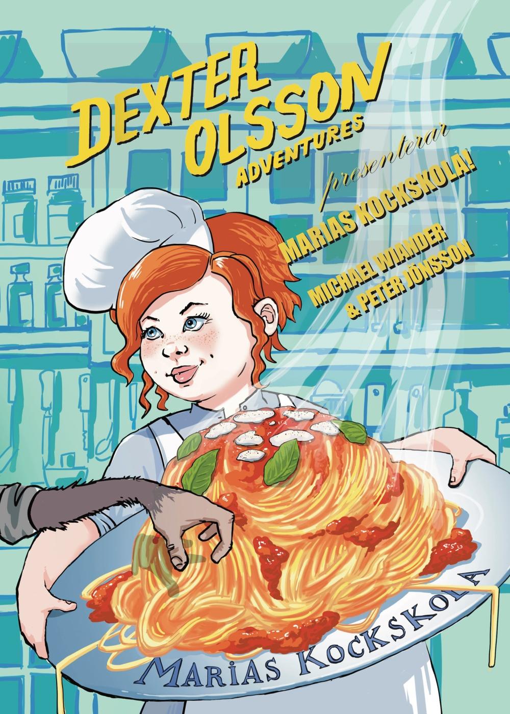 Bokomslag: Marias kockskola