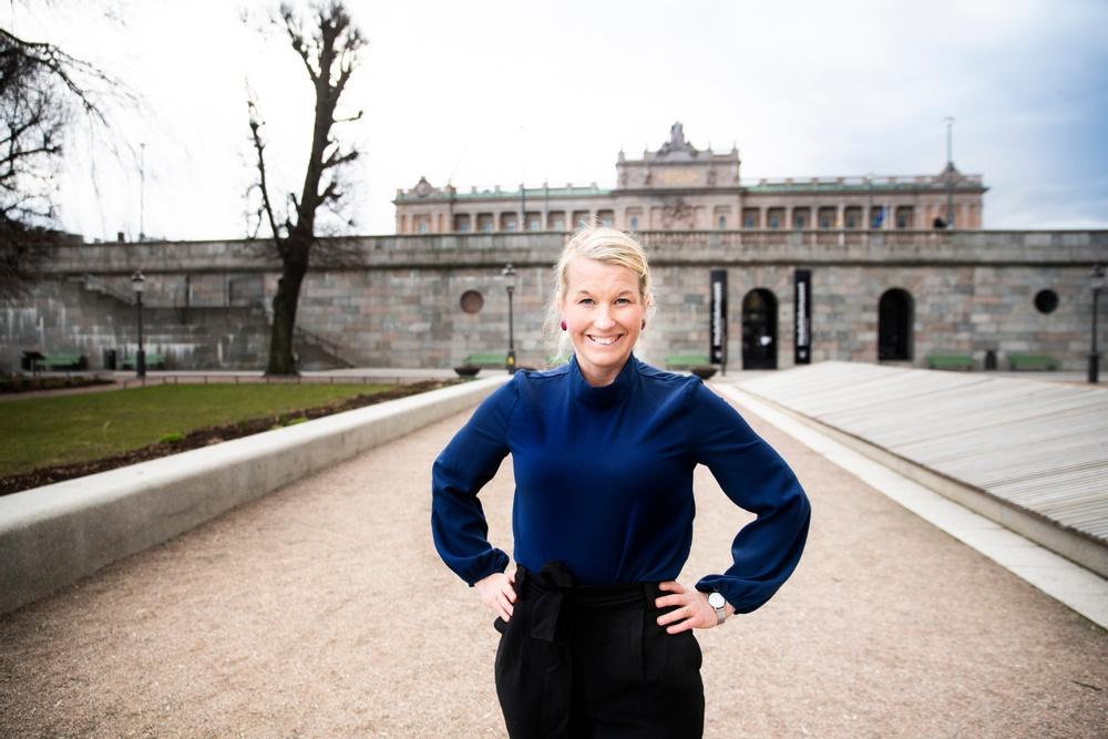 Josephine Sundqvist. Foto: Anna Ledin Wirén