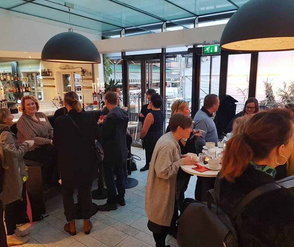 Till Vägledarträffen i Göteborg kom många studie- och yrkesvägledare för att lyssna till Blueberry College & Universitet, Ljungskile Folkhögskola och Centrala Studiestödsnämnden.