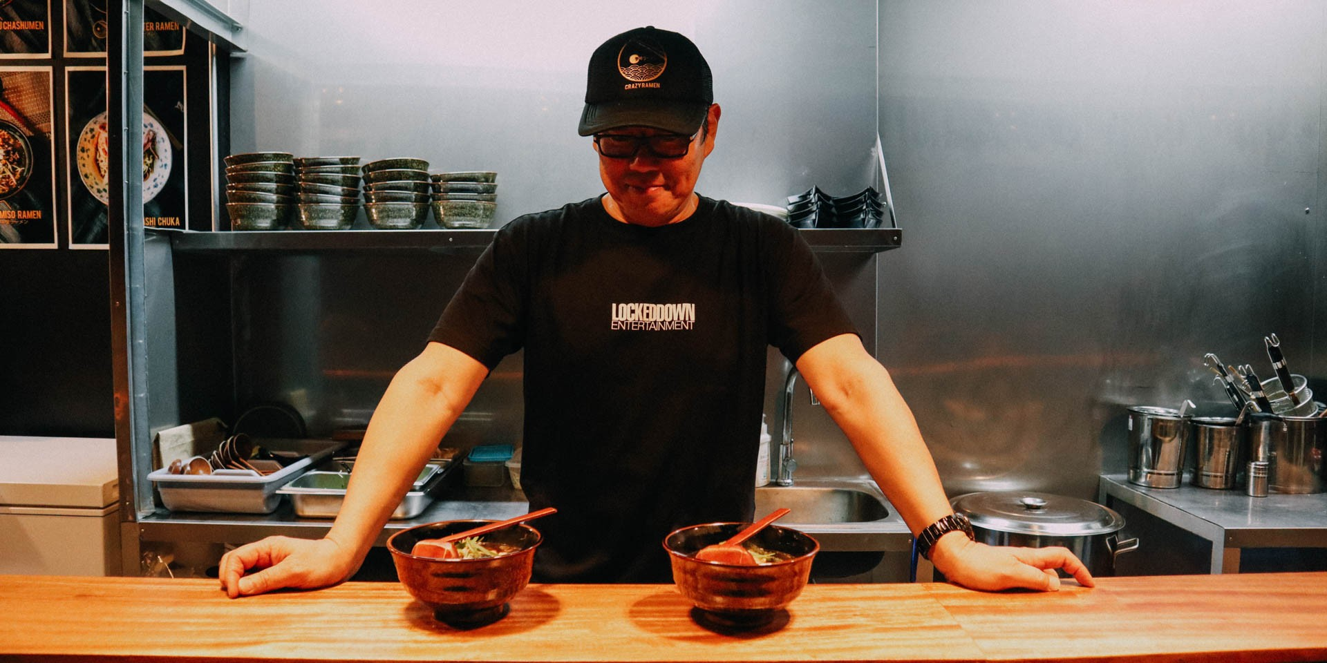Crazy Ramen, goodness in a bowl and a home for creativity to grow