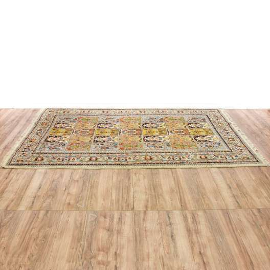 Indian Handwoven Area Rug