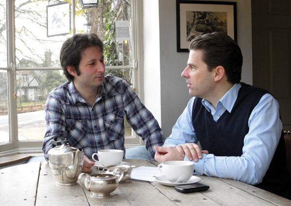 Dan Brod and Charlie Luxton