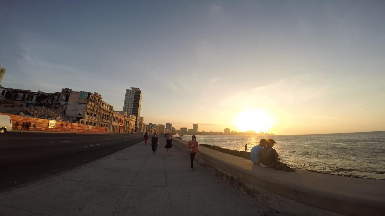cuba boardwalk beach