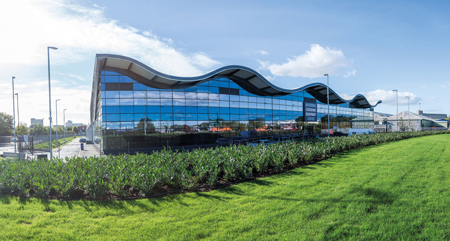 The National Catering Equipment Centre in Bristol, home of Nisbets' Avonmouth outlet