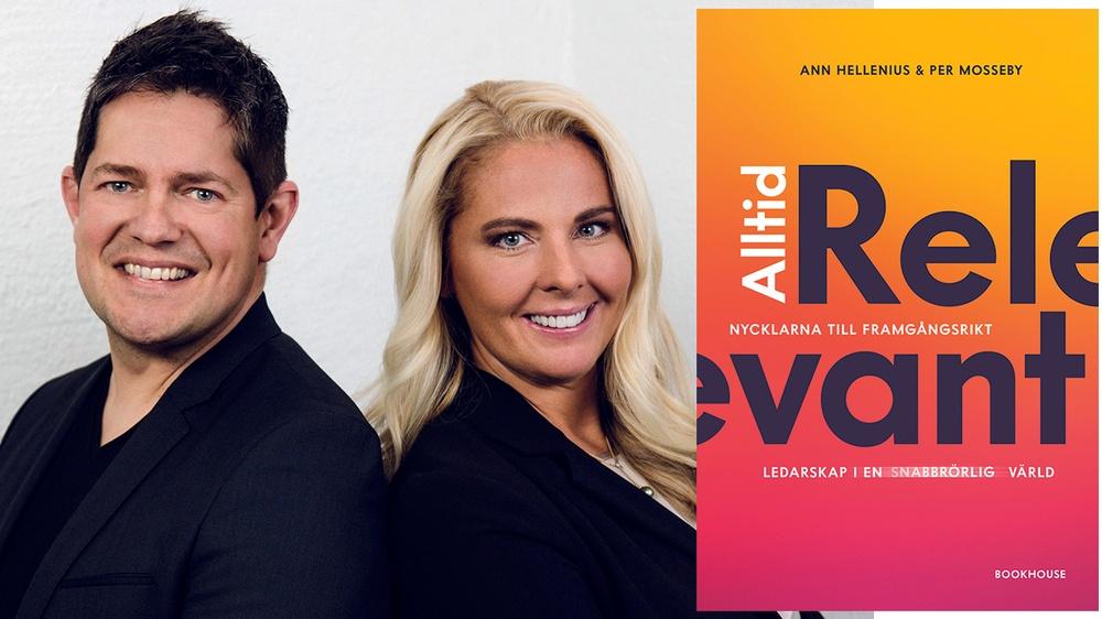 Per Mosseby och Ann Hellenius är författare till boken Alltid relevant