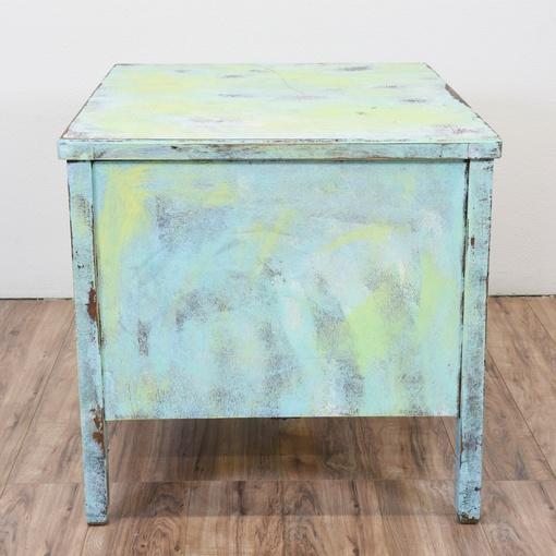 shabby chic light blue green desk loveseat vintage furniture san diego los angeles. Black Bedroom Furniture Sets. Home Design Ideas