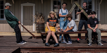 Gaten Matarazzo of Stranger Things shares his band's debut singles – listen