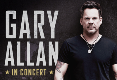 CVAH- Gary Allan, Sept. 8, 2018, gates 5:30pm