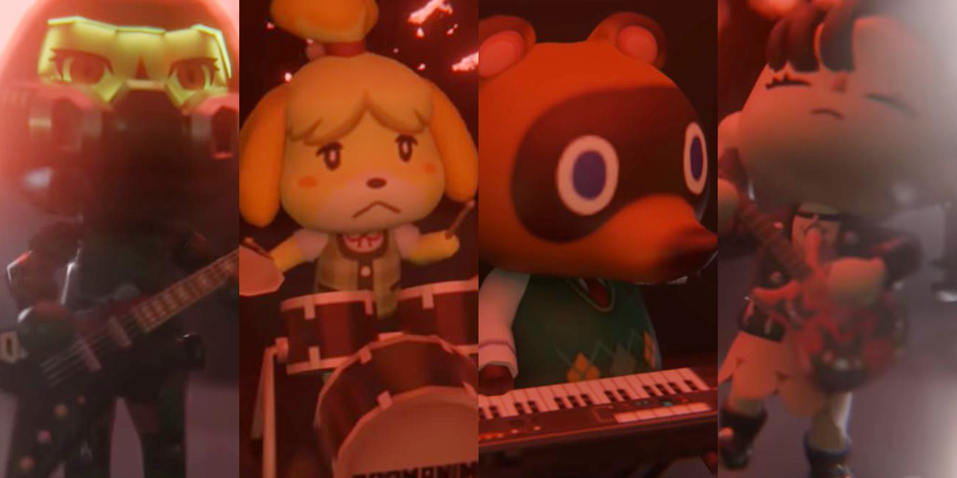 This is what happens when Doom and Animal Crossing come together to form a heavy metal band – watch
