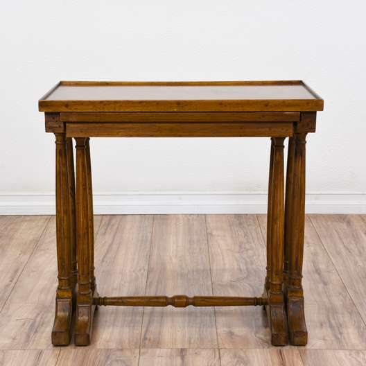 "Traditional ""Heritage"" Nesting End Tables"