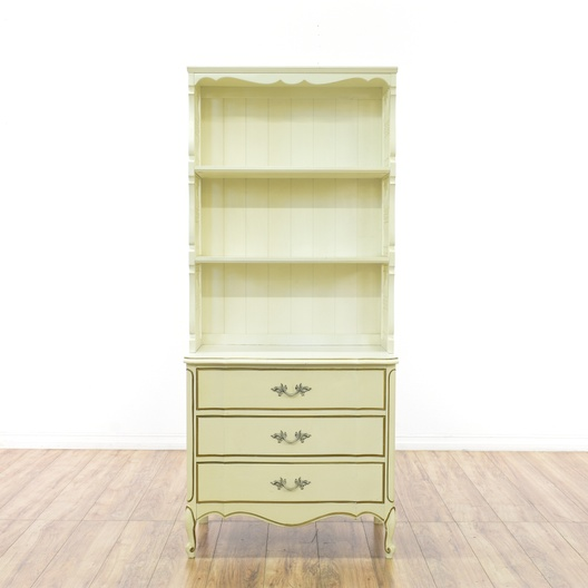 Dixie French Provincial Bookcase W Drawers Loveseat Com San Diego