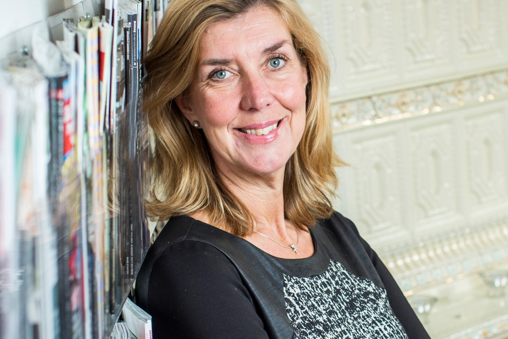 Kerstin Neld VD Sveriges Tidskrifter Foto: Gustav Kaiser. Bilden är beskuren.