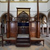 Bimah 1, Slat Ribi Shalom, Djerba (Jerba, Jarbah, جربة), Tunisia, Chrystie Sherman, 7/7/16