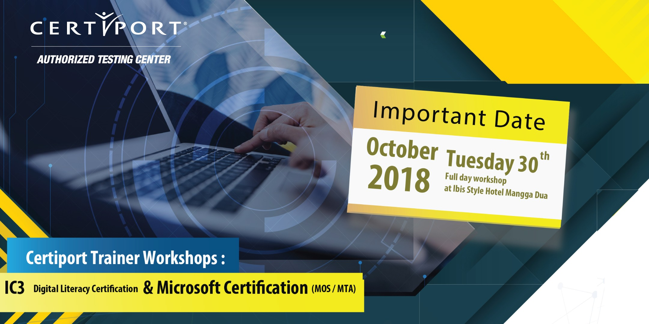 Certiport Trainer Workshops Ic3 Digital Literacy Certification