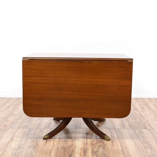 Duncan Storage Coffee Table: Duncan Phyfe Drop Leaf Dining Table W/ Drawer