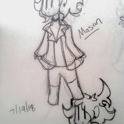 This is Mason, a character in my story.