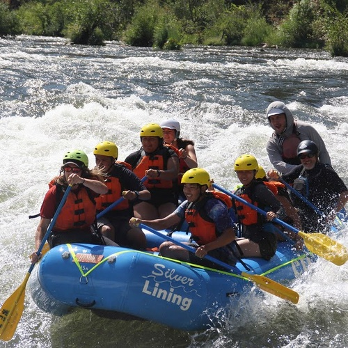 Rafting in the American River