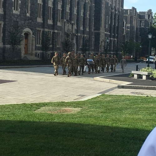 West Point campus and their cadets.
