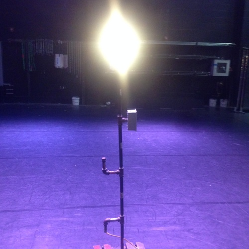 Our stage ghostlight