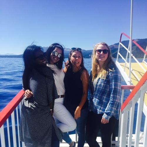 Steam boat ride on Lake Tahoe