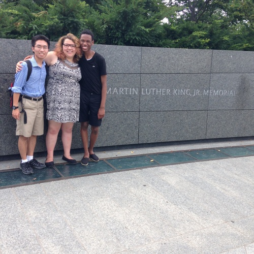 Visit to Dr. King's Memorial on a College Trip