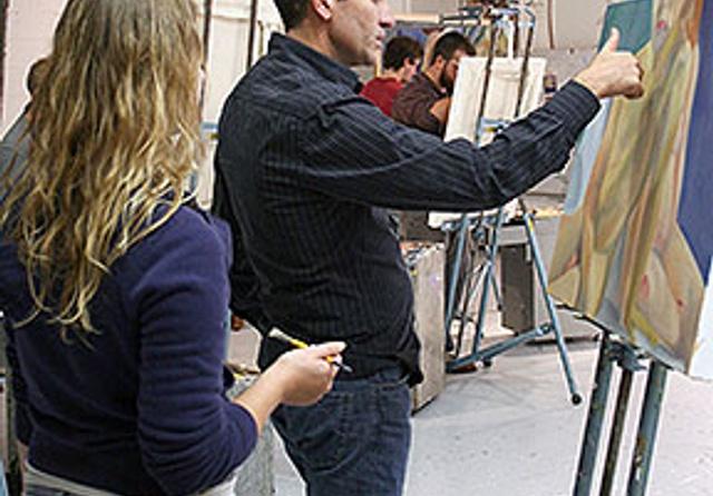 Syracuse Summer College 2D Art Studio