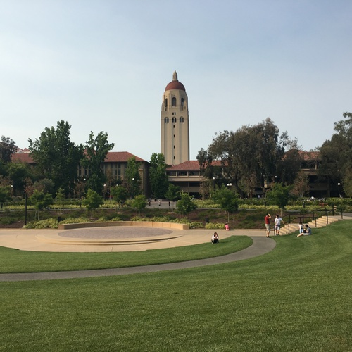 Hoover Tower watching over the Stanford Campus 7/2/2018.