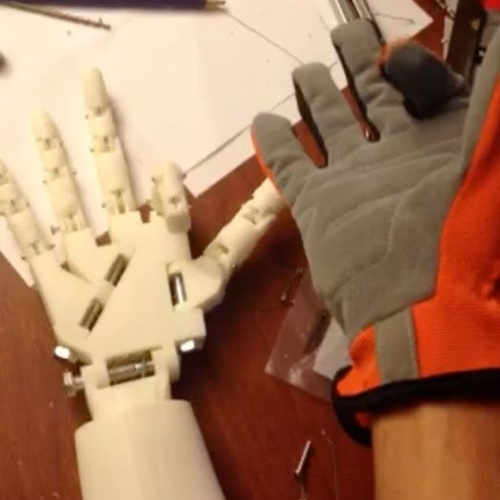 3D-Printed Robotic Hand