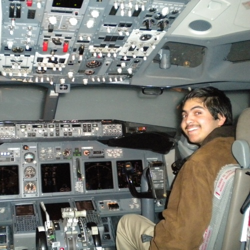 This is me in the simulator!