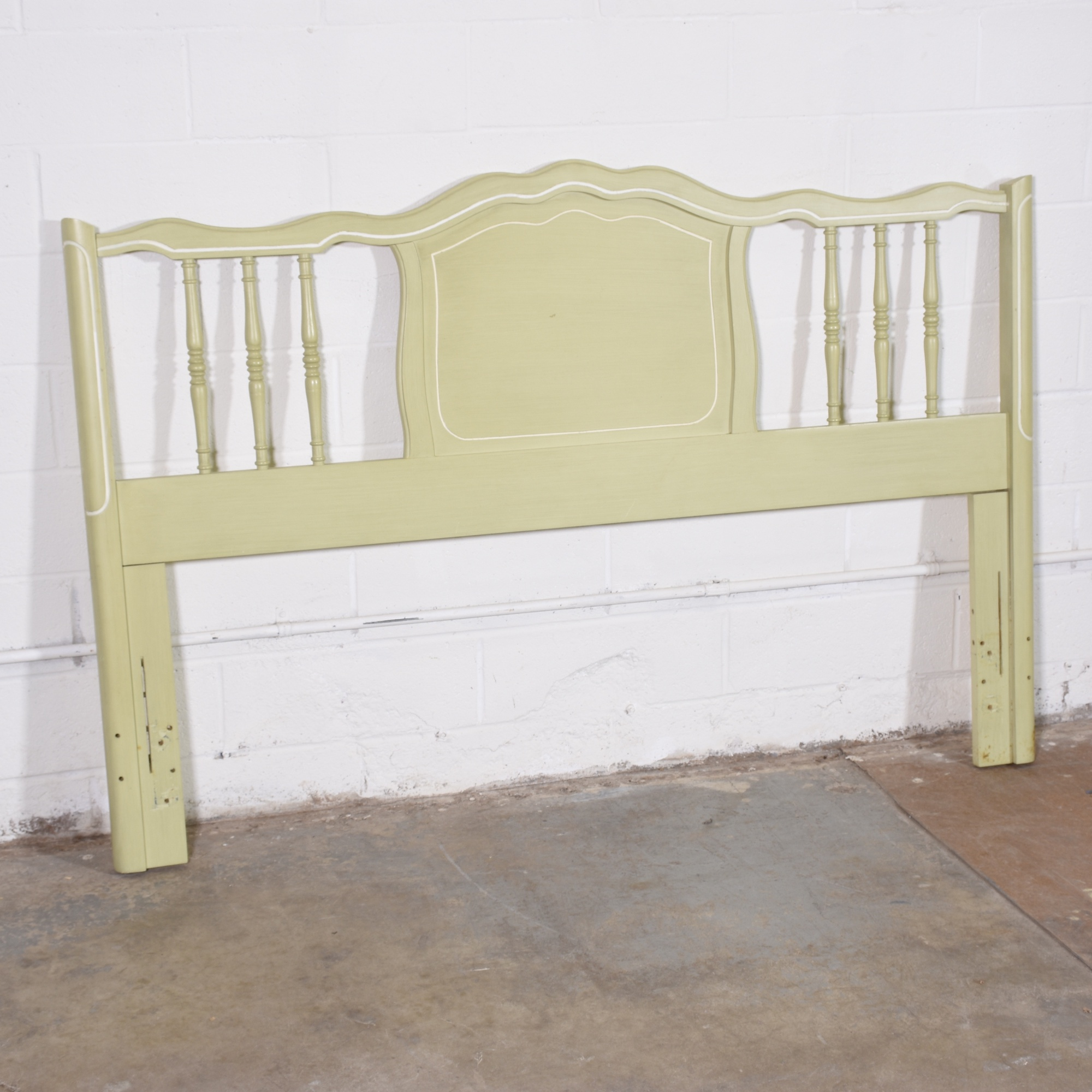 Henry Link French Provincial Full Headboard Loveseat Vintage Furniture San Diego Los Angeles