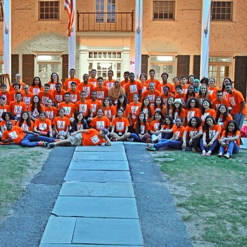 All LEDA Scholars on our First Day