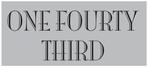 One Fourty Third