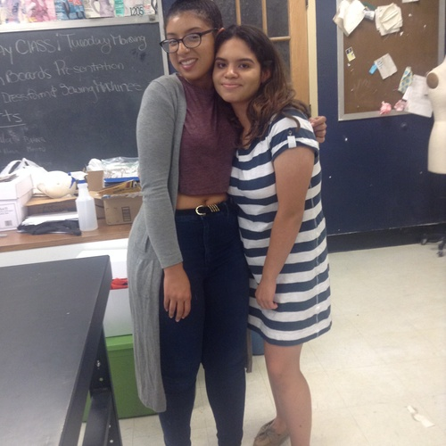 My fashion design teacher Gia such an amazing teacher. I will remember her forever!