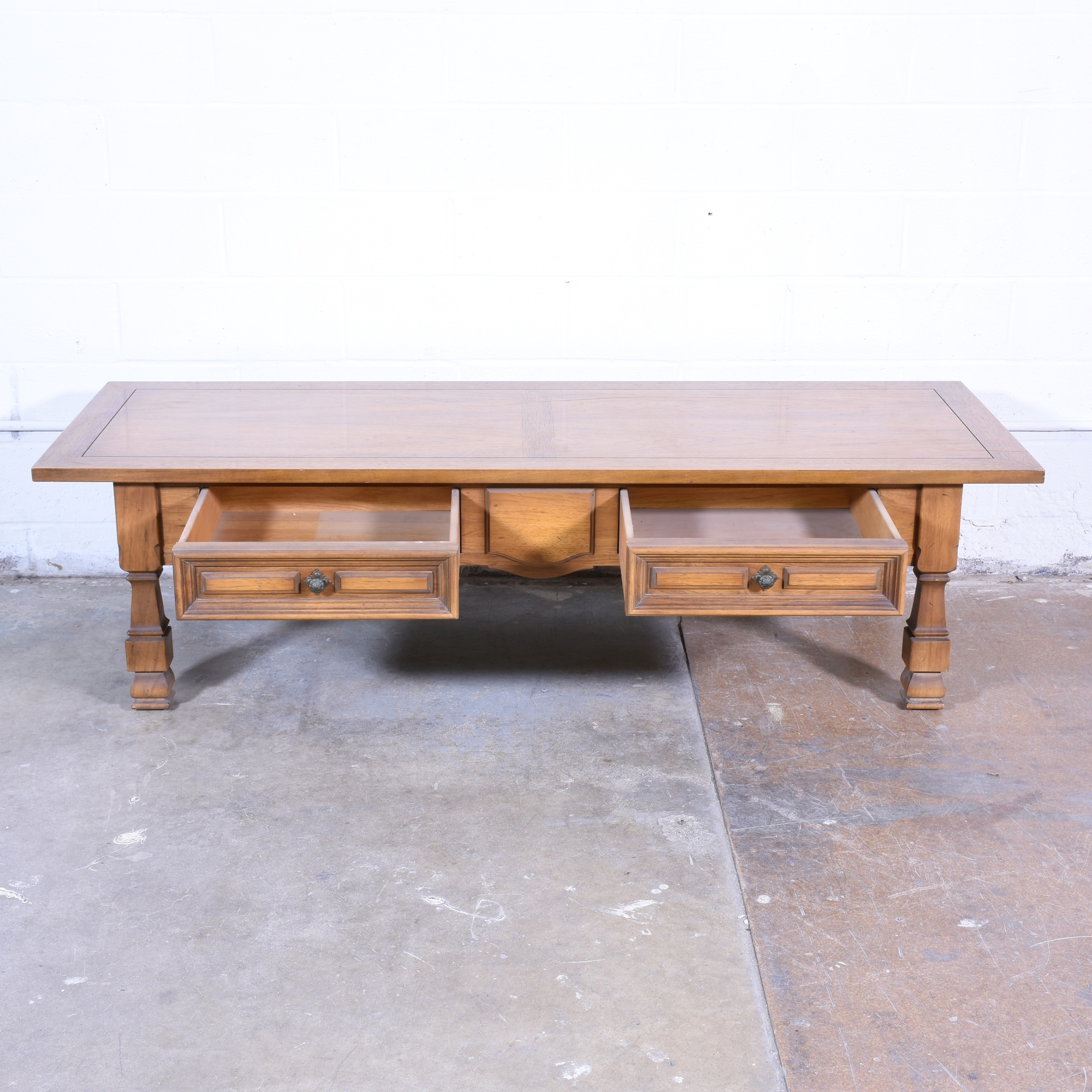 Thomasville Midcentury Coffee Table Loveseat Vintage Furniture San Diego Los Angeles