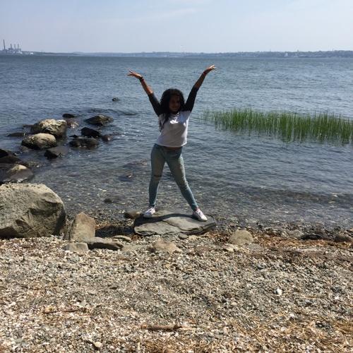Enjoying the beautiful bay Breeze of Bristol, Rhode Island