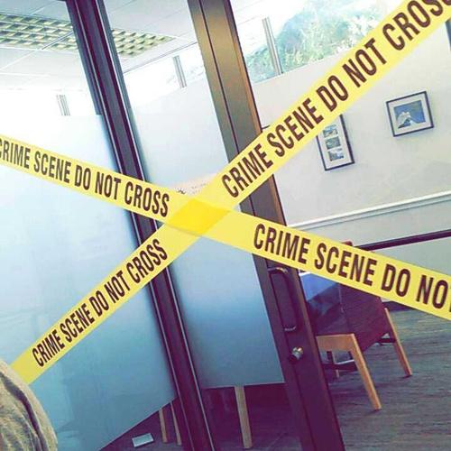My groups crime scene