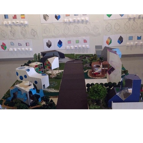 Final project for architecture presented in the final exhibition.