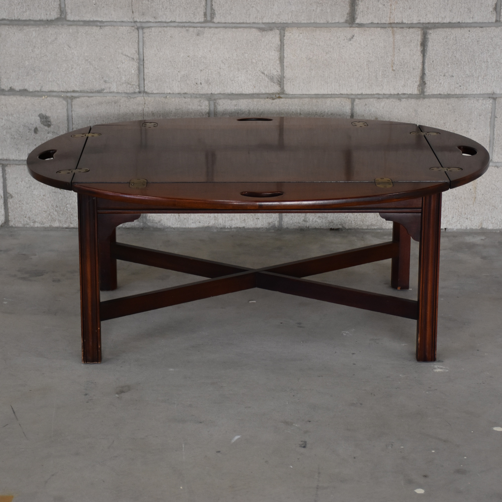 Vintage Butler Coffee Table: Loveseat Vintage Furniture San