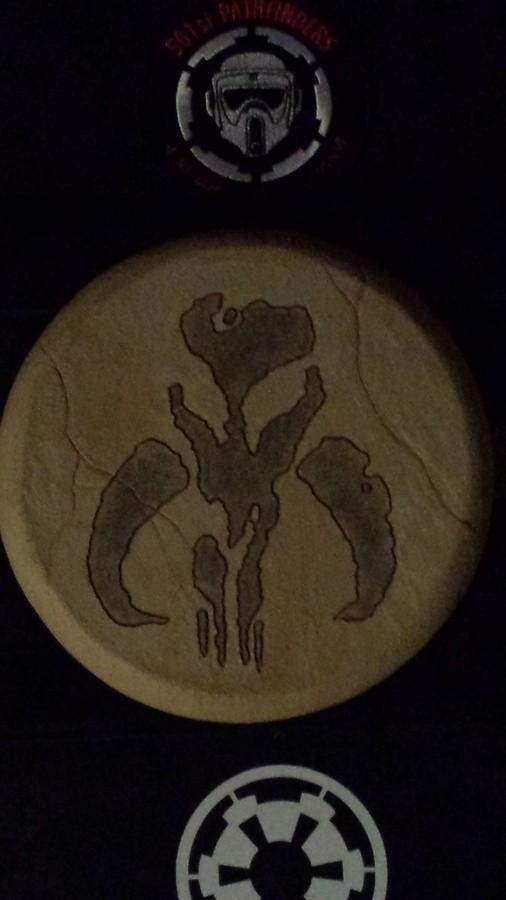 Mythosaur Emblem Boba Fettmandalorian Symbol Collectionzz