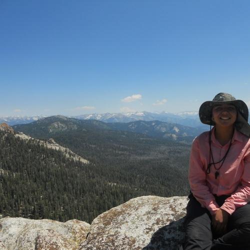 Climbing a peak