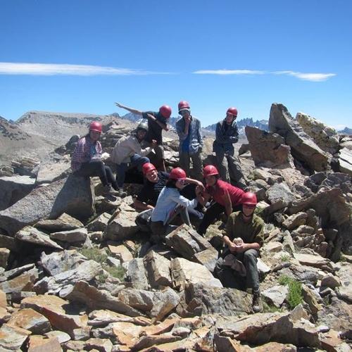 Top of Isberg Peak