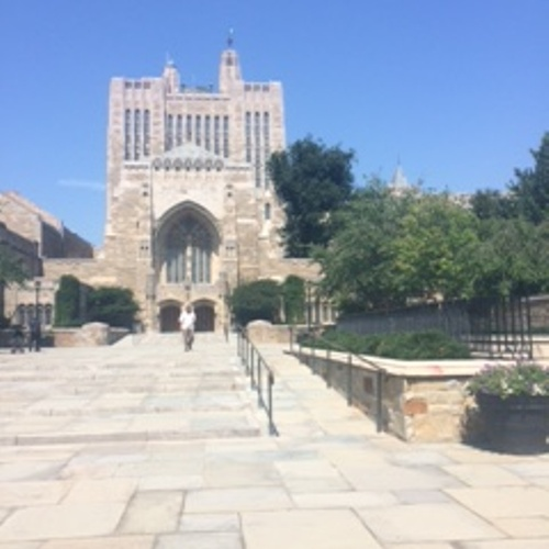 The beautiful architecture of Yale