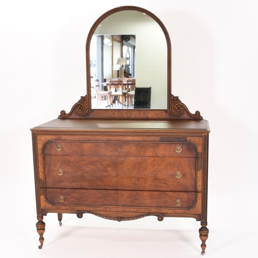 berkey gay vintage 3 drawer dresser w mirror loveseat vintage