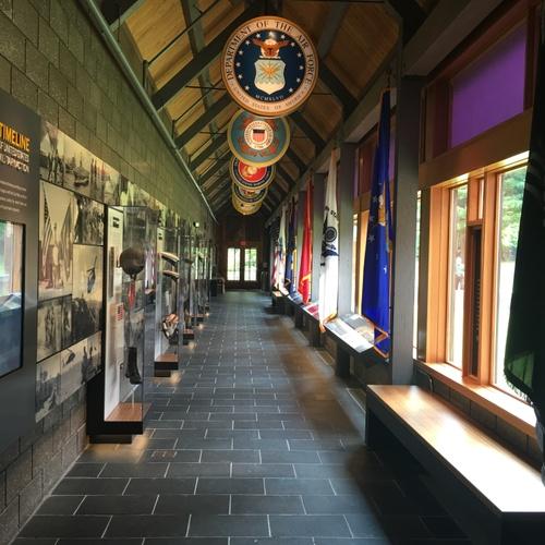 The Purple Heart museum.