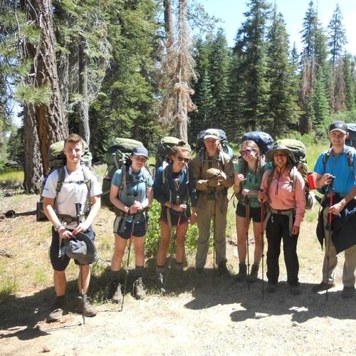 Pre-hike group photo
